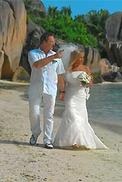Hochzeit auf den Seychellen