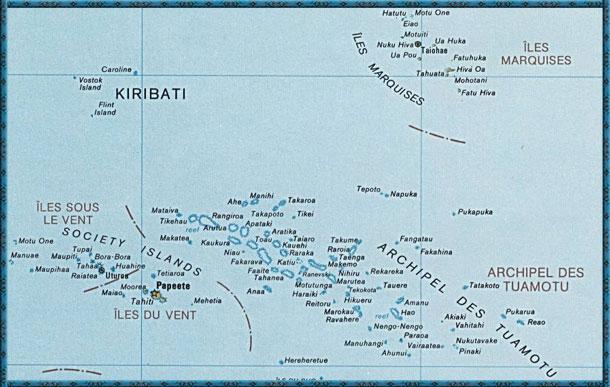 Allgemeine Informationen Zu Tahiti Ihren Inseln