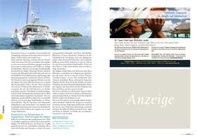 L'Evasion Tours als Polynesien Reiseveranstalter im Schweizer Fernweh Magazin 10/2017