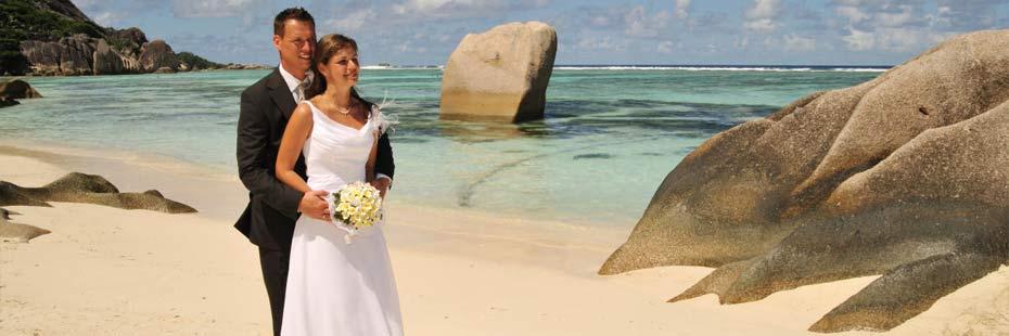 Pakete für Hochzeits-Zeremonien am Strand
