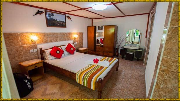 Rising Sun Gästehaus La Digue Seychellen