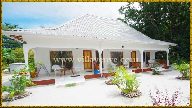 Hotel Villa Veuve La Digue Seychelles